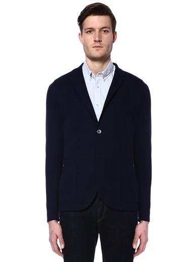 Harris Wharf London Blazer Ceket Mavi